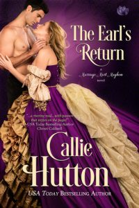 Author Visit: The Earl's Return by Callie Hutton (Excerpt & Giveaway)