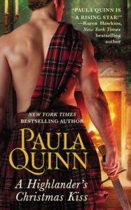 Blog Tour: A Highlander Christmas Kiss by Paula Quinn (Excerpt, Review & Giveaway)