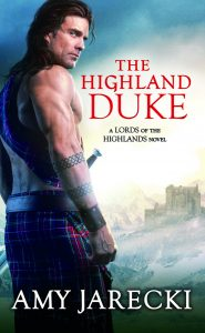 Cover Reveal: The Highland Duke by Amy Jarecki