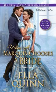ARC Review: When a Marquis Chooses a Bride by Ella Quinn