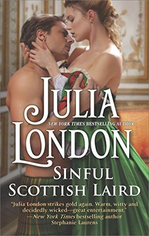 Blog Tour: Sinful Scottish Laird by Julia London (Review & Giveaway)