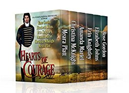 Author Event: Hearts of Courage A Collection of Regency Novellas to Benefit Wounded Military Heroes – A 5 Day Event (Excerpts & Giveaway)