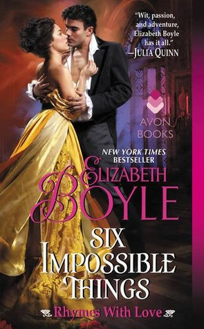 Blog Tour: Six Impossible Things by Elizabeth Boyle (Excerpt & Giveaway)