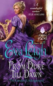 Blog Tour: From Duke Till Dawn by Eva Leigh (Excerpt, Review & Giveaway)