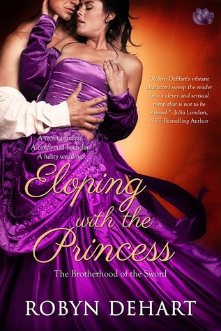 Spotlight: Eloping with the Princess by Robyn DeHart (Excerpt & Giveaway)
