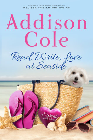 Read, Write, Love at Seaside (Sweet with Heat: Seaside Summers, #1) by Addison Cole