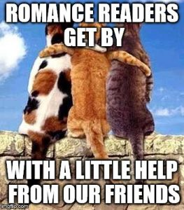 Saturday Discussion: You've Got to Have Friends (in Romance)
