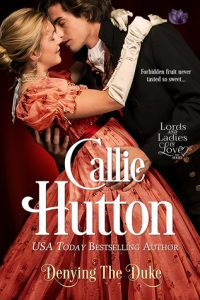 Blog Tour: Denying the Duke by Callie Hutton (Interview, Excerpt, Review & Giveaway)