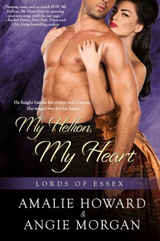 Blog Tour: My Hellion, My Heart by Amalie Howard & Angie Morgan (Excerpt & Giveaway)