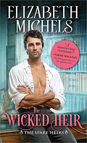 Blog Tour: The Wicked Heir by Elizabeth Michels (Excerpt, Review & Giveaway)