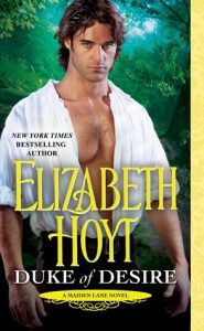 Blog Tour: Duke of Desire by Elizabeth Hoyt (Excerpt, Review, Five Things & Giveaway)
