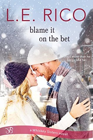 Blog Tour: Blame it on the Bet by L.E. Rico (Excerpt & Giveaway)