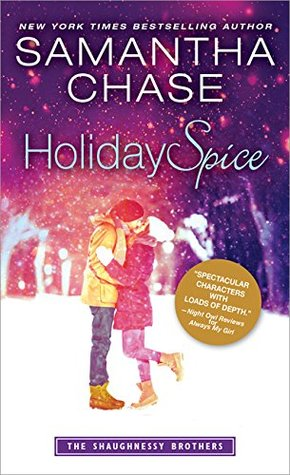 Blog Tour: Holiday Spice by Samantha Chase (Excerpt, Review & Giveaway)