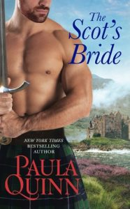 Release Blitz: The Scot's Bride by Paula Quinn (Excerpt & Giveaway)
