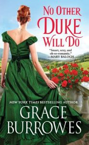 ARC Review: No Other Duke Will Do by Grace Burrowes