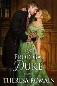 Author Visit: The Prodigal Duke by Theresa Romain (Excerpt, Review & Giveaway)