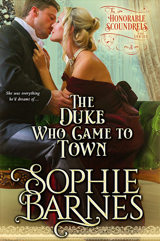 Book Blast: The Duke Who Came To Town by Sophie Barnes (Excerpt & Giveaway)
