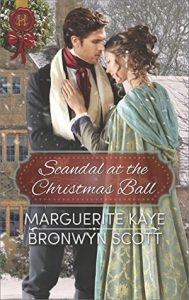 Spotlight: Scandal at the Christmas Ball by Marguerite Kaye & Bronwyn Scott (Excerpt & Review)