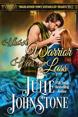 Release Blitz: When a Warrior Woos a Lass By Julie Johnstone (Excerpt & Giveaway)