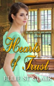 Author Visit: Hearts of Trust by Ellie St. Clair (Excerpt & Giveaway)