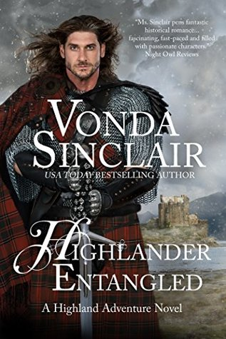 Spotlight: Highlander Entangled by Vonda Sinclair (Excerpt & Giveaway)