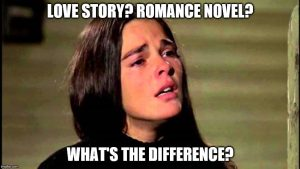 Saturday Discussion: What's The Difference Between a Romance and a Love Story?