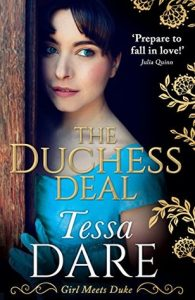 Blog Tour (UK Release): The Duchess Deal by Tessa Dare (Excerpt, Review & Giveaway)