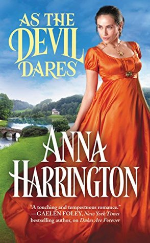 Author Visit: As the Devil Dares by Anna Harrington (Excerpt, Review & Giveaway)