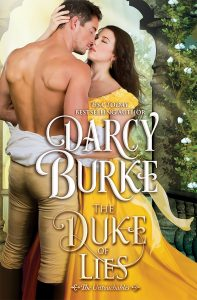 Cover Reveal: The Duke of Lies by Darcy Burke