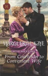 ARC Review: From Courtesan to Convenient Wife by Marguerite Kaye