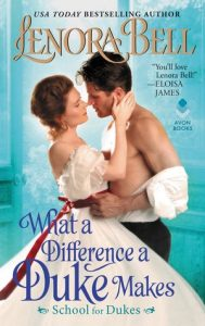 Blog Tour: What a Difference a Duke Makes by Lenora Bell (Excerpt, Review & Giveaway)