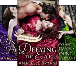 Spotlight: Regency Charms Series by Anabelle Bryant (Guest Post)