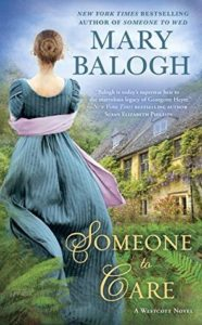 Author Visit: Someone to Care by Mary Balogh (Excerpt, Review & Giveaway)
