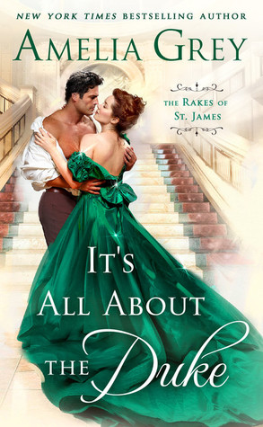 Author Visit: It's All About the Duke by Amelia Grey (Excerpt, Review & Giveaway)