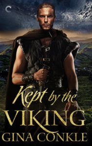Author Visit: Kept by the Viking by Gina Conkle (Excerpt, Guest Post & Giveaway)