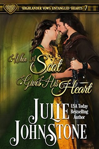 Release Blitz: When a Scot Gives His Heart by Julie Johnstone (Excerpt, Review & Giveaway)