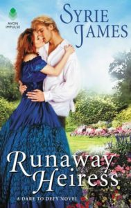 Blog Tour: Runaway Heiress by Syrie James (Excerpt & Giveaway)