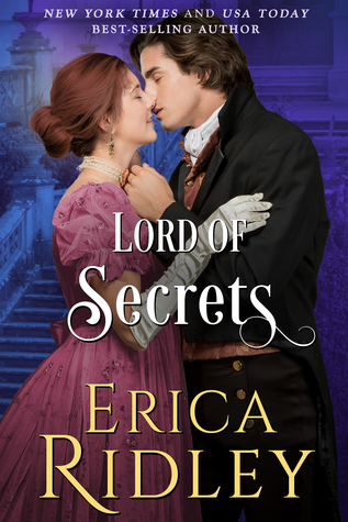 Author Visit: Lord of Secrets by Erica Ridley (Excerpt & Review)