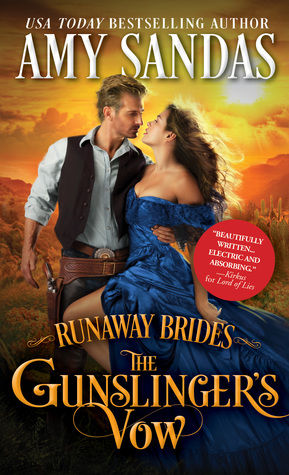Spotlight: The Gun Slinger's Vow by Amy Sandas (Excerpt, Review & Giveaway)