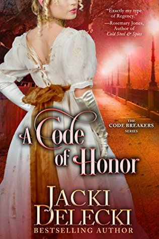 Author Visit: A Code of Honor by Jacki Delecki (Excerpt & Giveaway)