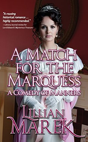 Author Visit: A Match for the Marquess by Lillian Marek (Excerpt & Giveaway)