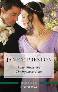 ARC Review: Lady Olivia and the Infamous Rake by Janice Preston