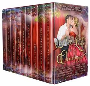 Author Event: 9 Lords for Christmas An Anthology (Excerpts & Giveaway)