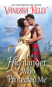 ARC Review: The Highlander Who Protected Me by Vanessa Kelly